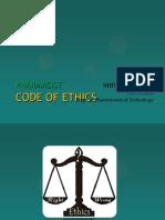 Pharmacist Code of Ethics