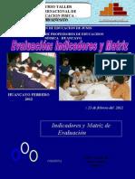 Evaluacion de La Ed Fisica Huancayo