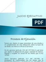 Juicio Ejecutivo Power Point)