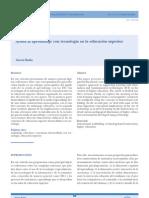Ayuda Al Aprendizaje Con Tecnologia en La Educacion Superior