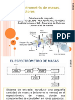 Espectrometría de masas- expo
