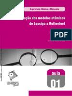 172288-QUÍMICA_INORGÂNICA_AVANÇADA_EVOLUÇÃO_DO_MODELO_ATÕMICO(LEUCIPO_A_RUTHERFORD)