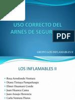 USO CORRECTO DEL ARNÉS DE SEGURIDAD