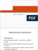 IV. Crecimiento Microbiano 1