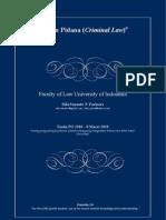 Catatan Hukum Pidana Full Version