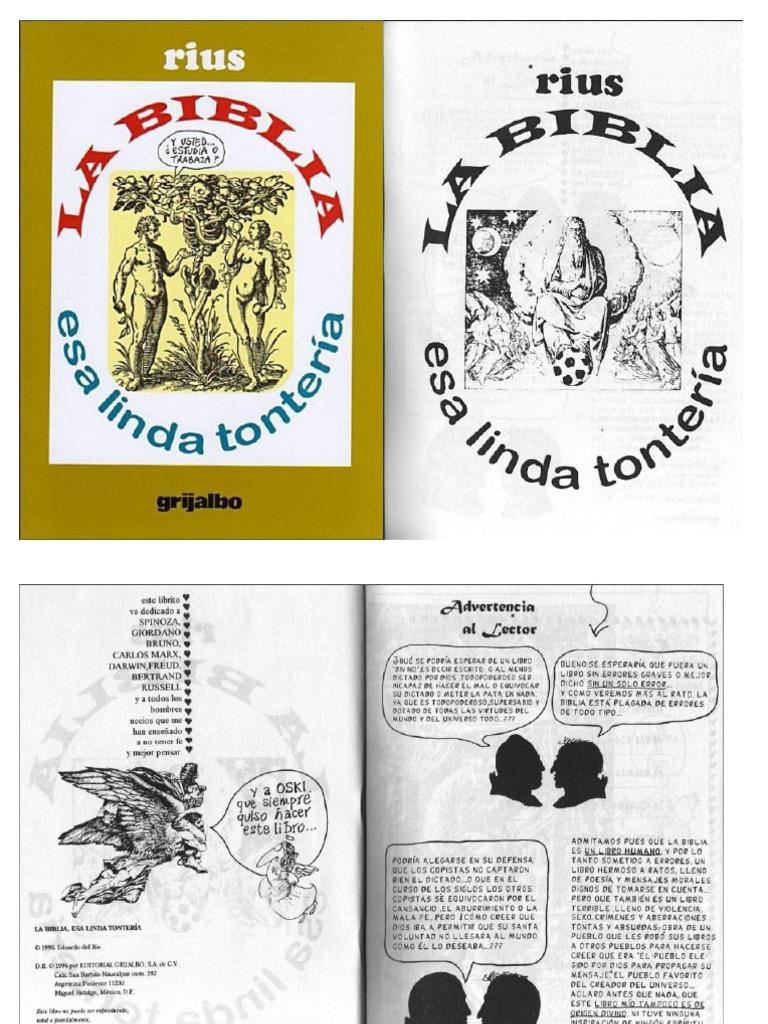 rius la biblia esa linda tonteria pdf
