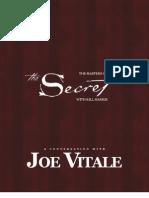 Masters Of the Secret  Joe Vitale