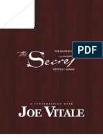 Masters Of the Secret  Joe Vitale