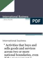 International Business Chpt 1