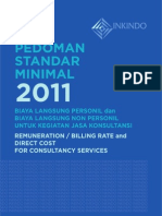BIling Rate Inkindo 2011