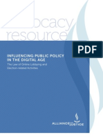 Digital Age Public Policy