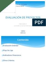 Clase Evaluación de Proyectos (24 de Abril 2012)