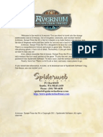 Avernum Instructions