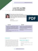 Caso Clinico Tratamiento de Cii Con Mia Anclaje Con Microimplantes