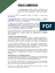 Resumen de Historia de La Admin is Trac Ion