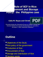 Rice Policy Level Study_Dr Celia Reyes