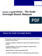 Practitoner s Session 1 the Audit Oversight Board