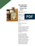Libros sobre Kahlo 5