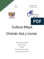 Cultura Maya, Chichén Itzá y Uxmal