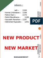 New Product Development Marketing Management