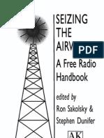 Sakolsky Ron Seizing Airwaves