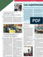 Experiencias del profesorado 2012 La Voz de la Escuela. 23.05.2012