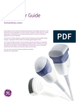 GEHealthcare Voluson e Series Transducer Guide