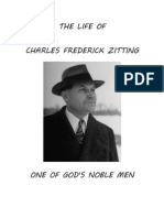 The Life of Charles F. Zitting
