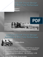 Artificial Lift - ESP Thrust