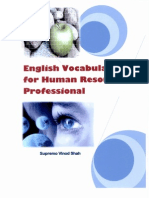 English Vocabulary for HR Professionals