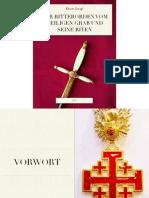 Der Ritterorden vom Heiligen Grab und seine Riten