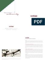 VINTAE Catalog 2012 ENG