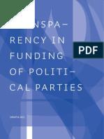 Matakovic_Transparency in Funding of Political Parties Croatia 2011