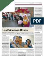 las princesas rosas