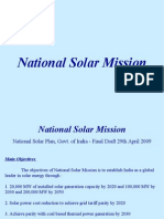 National Solar Mission