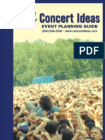 Concert Planning Guide
