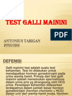 Test Galli Mainini
