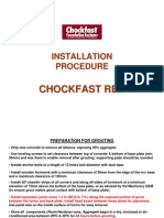 Installation Procedure-Chockfast Red