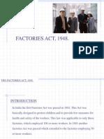 Factory Act 1948 Original