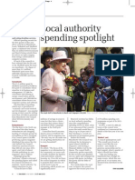 Local authority spending spotlight