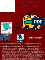 Enviromental Pollution