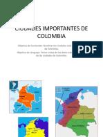 Ciudades Import Antes de Colombia