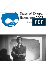 State of Drupal presentation (September 2007)