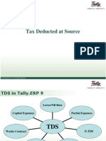 Tax Deducted Source | Tally Customization services | Tally Developer |  Tally Implementation Services