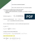 Affidabilità e MTTF di un sistema con riserva e commutazione imperfetta