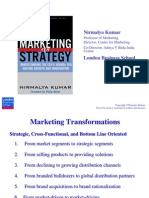 Nirmalya Kumar Marketing as Strategy