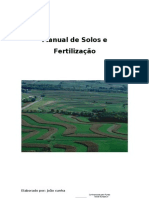 Manual Solo e Fertilizacao