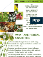 Herbal Beautification Products