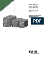 Eaton Nova AVR Manual