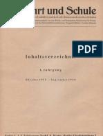Luftfahrt und Schule - Zeitschrift ( Inhaltsverzeichnis ) unvollständig 1935-1942, Volckmann